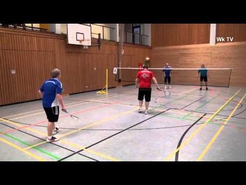 [Wk TV] Sport-Report - Offenes Badminton-Turnier des DTV