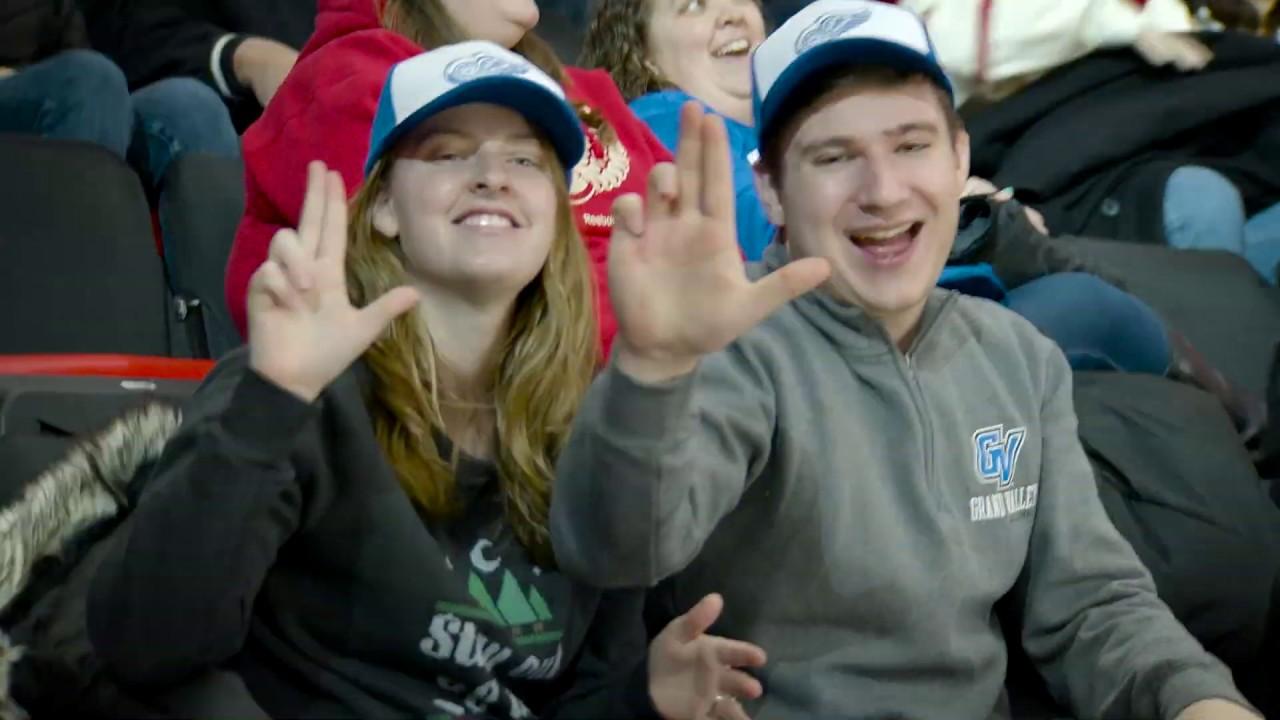 b953abca5c1 Detroit Red Wings GVSU Night - YouTube