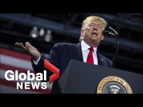 U.S. President Trump Holds Rally In Michigan Amid Impeachment