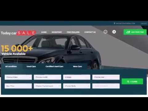 car listing script