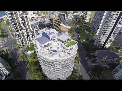 The Penthouse (3 Min Video) @ Mayfair Surfers Paradise Gold Coast