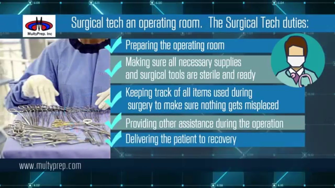 surgical technologist board certification national exam course