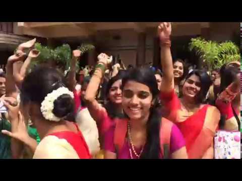 Students Of St. Teresa's College Celebrate Onam