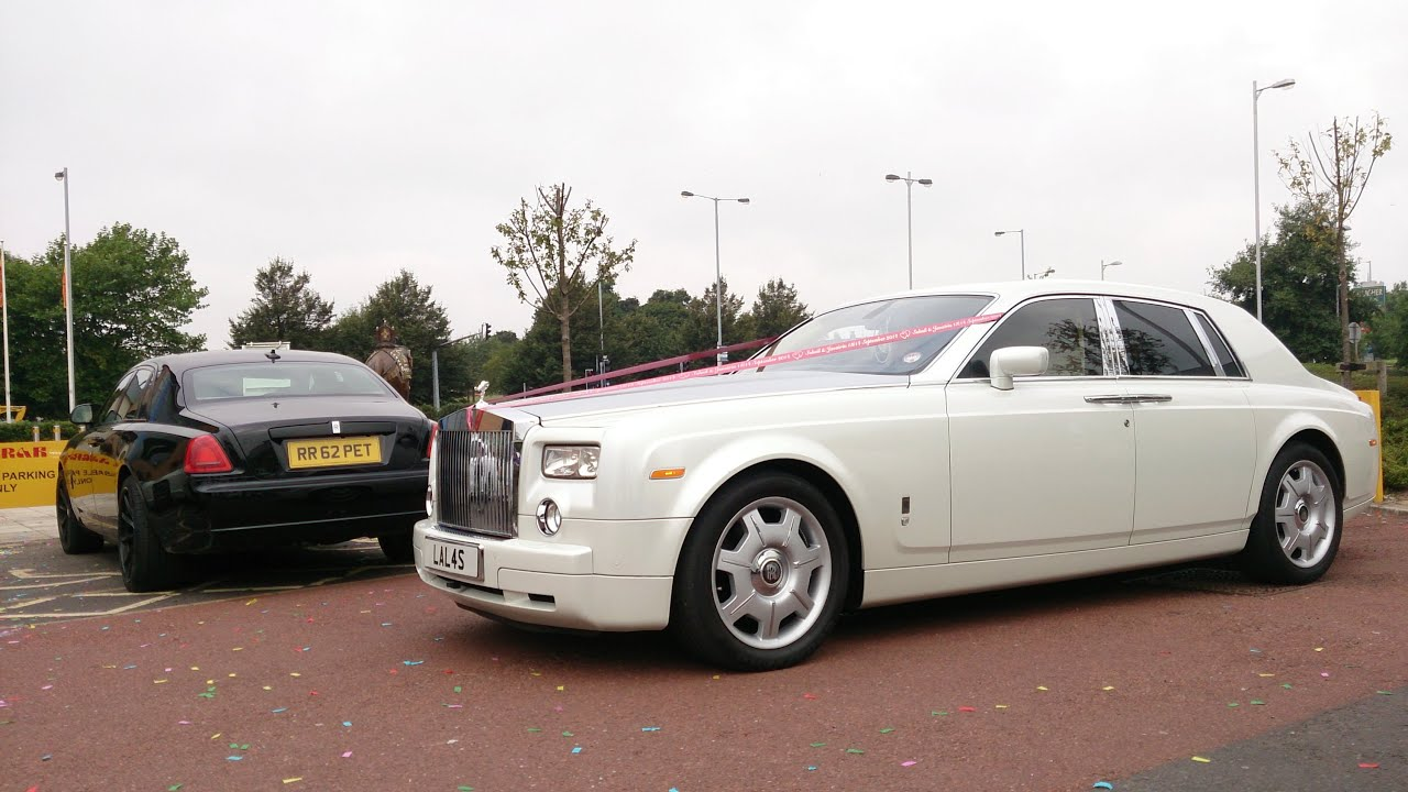 luxury wedding cars in bradford ghost gallardo and more. Black Bedroom Furniture Sets. Home Design Ideas