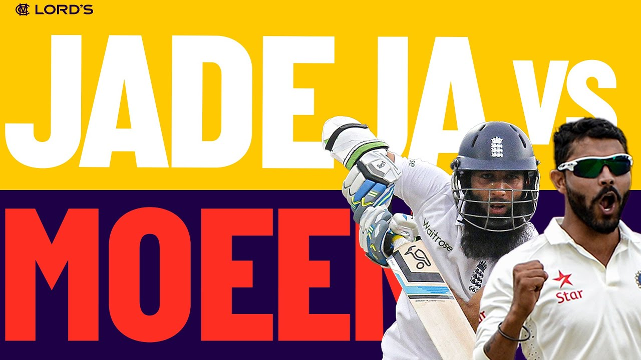 Jadeja v Moeen | Battle of the Spin Bowling All Rounders! | England v India 2014 | Lord's