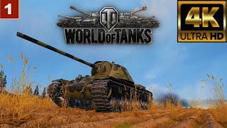 4K World of Tanks gameplay wargaming танки онлайн игра 05.03.2021