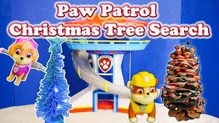 PAW PATROL Nickelodeon Paw Patrol Christmas Tree Search a Paw Patrol Video Parody