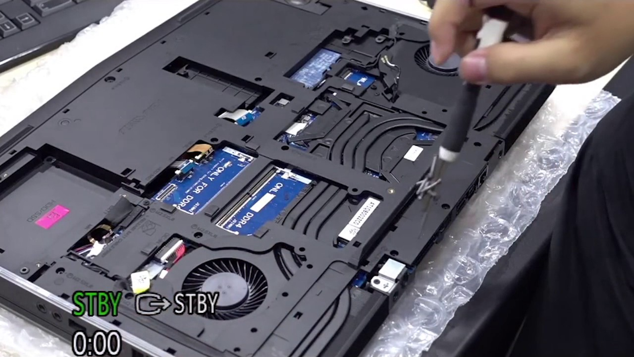 New Alienware 17 R4 15 R3 Disassembly Repaste Teardown