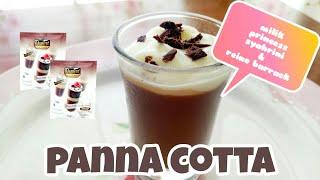 PANNA COTTA DOUBLE CHOCO   DESSERT FACTORY PANNA COTTA PUNYA PRINCESS SYAHRINI & REINO BARRACK