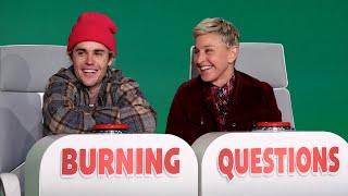 Download lagu Justin Bieber Answers Ellen's 'Burning Questions'