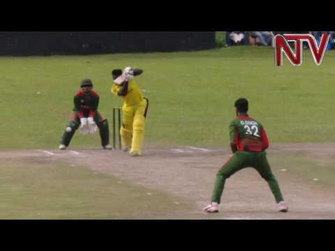 Cricket: Uganda wraps up four-nil series win over Kenya