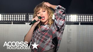 Taylor Swift Returns To The Stage At Jingle Ball & Poptopia
