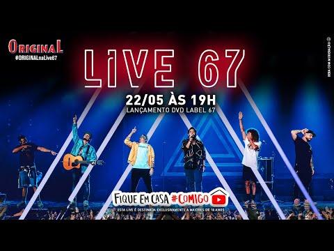 Live Atitude 67 – lançamento do DVD Label 67- #FiqueEmCasa e Cante #Comigo