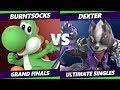 Smash Ultimate Tournament - burntsocks [L] (Yoshi)  Vs. Dexter (Wolf) - S@X 294 SSBU Grand Finals