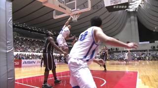 全日本総合バスケットボール選手権2013 男子決勝 パナソニック vs アイシン thumbnail