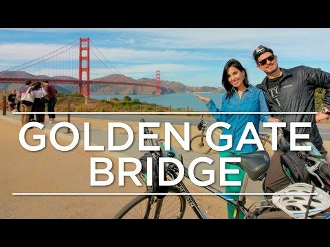 PASSEIO DE BICICLETA EM SAN FRANCISCO - Atravessando a Golden Gate Bridge   Califórnia 5