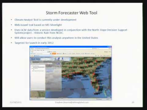 StormCaster - Presented by Stephen Bourne at SJRWMD ES Meeting 20120621