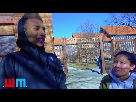 NEWMAN TV :: OUTLETS OF ABUSE :: SCHURZ HIGH SCHOOL INTERVIEW