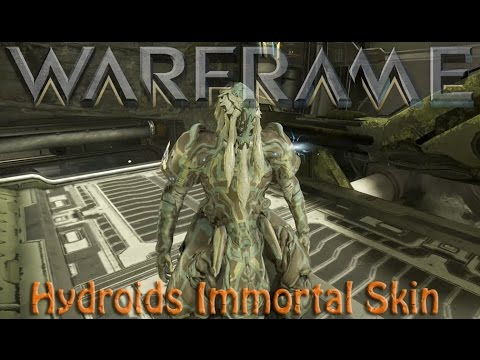 Warframe Hydroids Immortal Skin Worth It Youtube