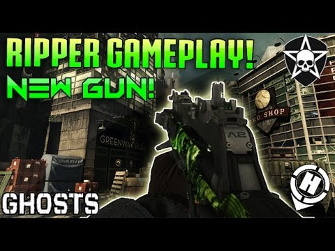 "Call of Duty: Ghosts ""The RIPPER!"" Gameplay! - Hybrid GUN ... Cod Ghost Devastation Ripper"