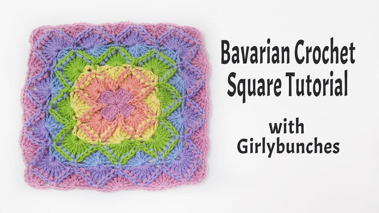 Bavarian Crochet - Tutorial | Girlybunches - YouTube