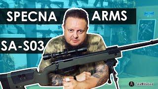 Karabin snajperski z lunetą i dwójnogiem (SA-S03) Specna Arms - TANIEMILITARIA.PL