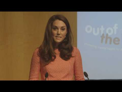 The Duchess of Cambridge at the launch of the 'Out of the Blue' film series, with Heads Together