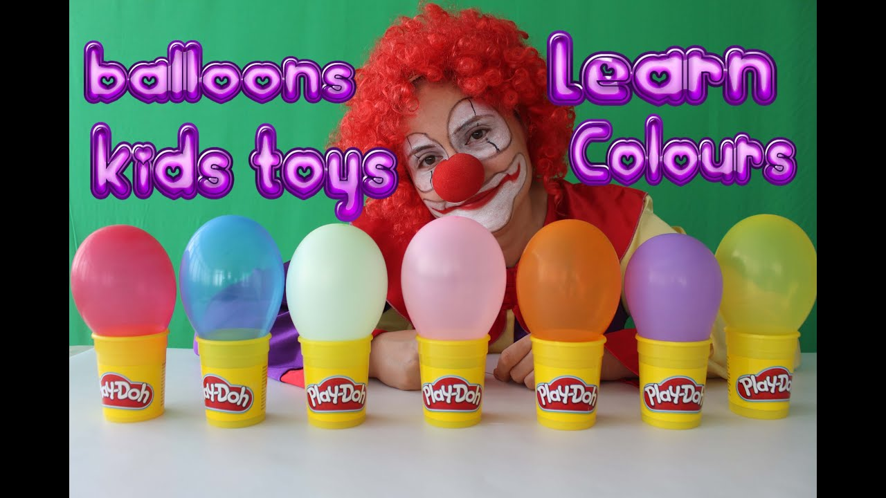 Top Learn Colours With Balloons