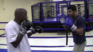 """Boxing Basics – """"The Jab"""" demonstrated by Alex Stewart"""