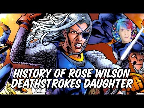 History of Rose Wilson - Daughter of Deathstroke