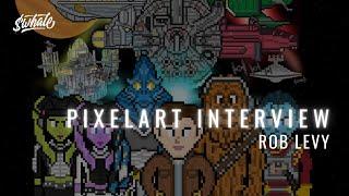 NFT PixelChain Live Art Series w/ HeatherHz & Artist Rob Levy - Ep.4