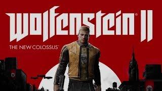 Wolfenstein 2: The New Colossus #1 - ps4 - (Gameplay AO VIVO com comentários pt-br)