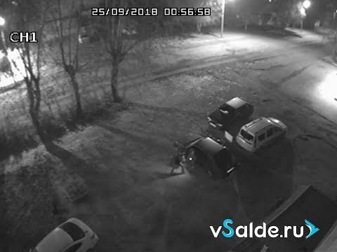 В Верхней Салде 20-летние злоумышленники пытались угнать автомобиль