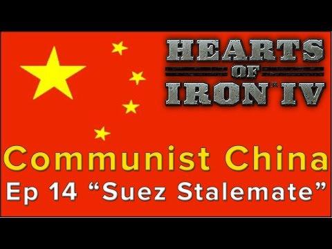 "Hearts of Iron 4: Communist China Episode 14 - ""Suez Stalemate"""