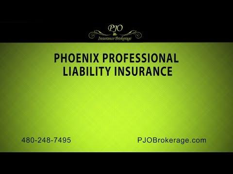 Phoenix Professional Liability Insurance | PJO Brokerage Insurance