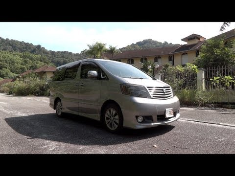 2004 Toyota Alphard 2.4 G Start-Up, Full Vehicle Tour, and Quick Drive