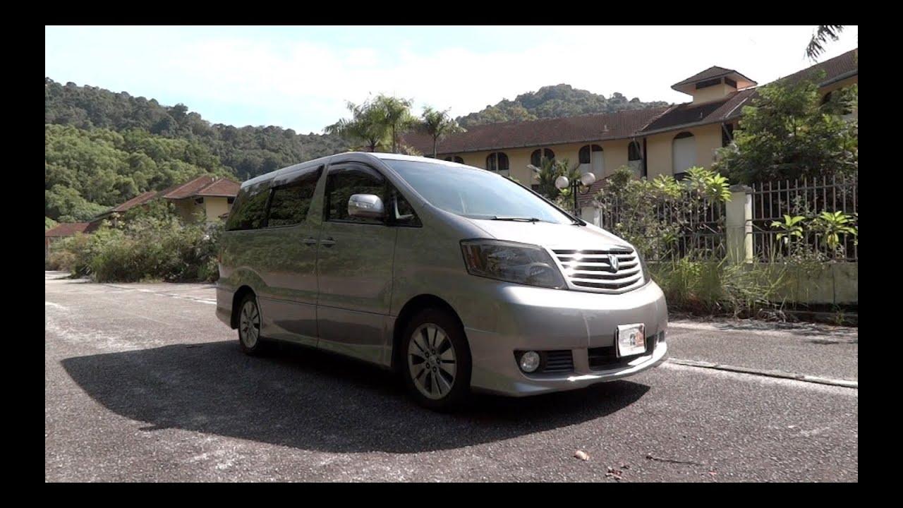 2004 toyota alphard 2 4 g start up full vehicle tour and quick rh youtube com