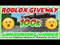 BLOXBURG GIVEWAY WINNERS!! (ROBLOX)