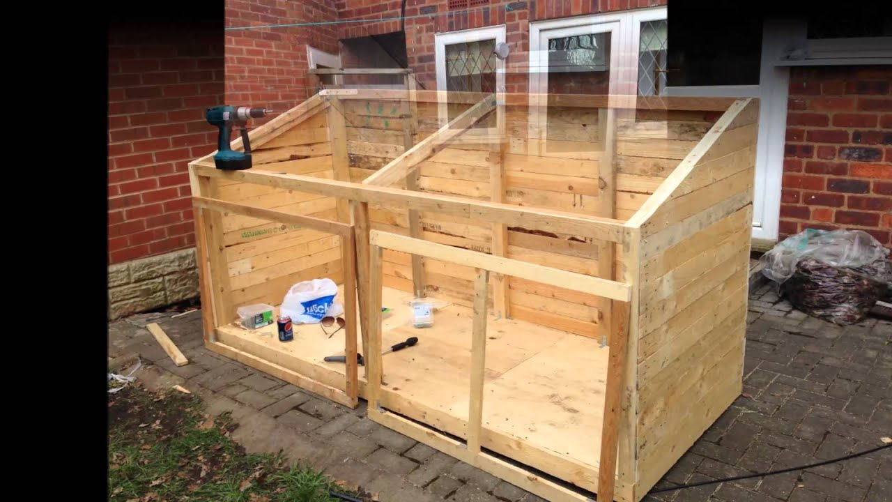 Pallet Shed Video - YouTube