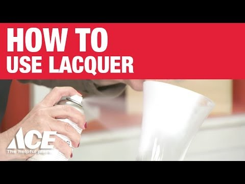 Lacquer - Paint Tip from Amy Howard at Home and Ace Hardware