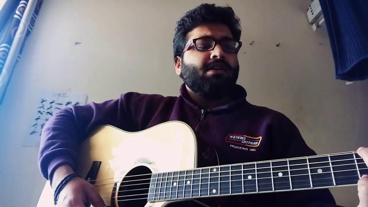 Aise Na Mujhe Tum Dekho Guitar Cover Youtube