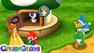 Mario Party 9 Garden Battle - Daisy v Mario v Kamek v Yoshi   CRAZYGAMINGHUB
