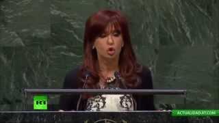 Discurso de Cristina Fernández en la 69ª Asamblea General de la ONU