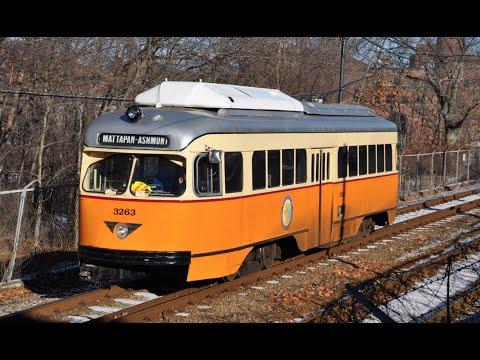 Boston PCC Streetcar: Ashmont - Mattapan Line
