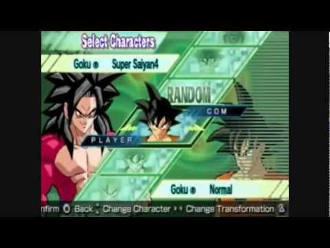 DBZSB2 (DragonBall Z Shin Budokai 2): All Characters and Transformations {DBOFRIEND} [HD]