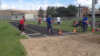 Provincial Summer Games - Athletics Long Jump