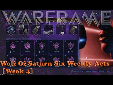 Warframe - Wolf Of Saturn Six Weekly Acts [Week 4] thumbnail