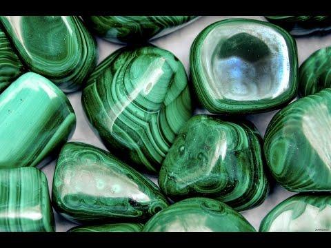 Малахит Свойства камня