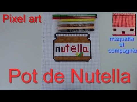 Tuto Comment Faire Un Pot De Nutella En Pixel Art 11
