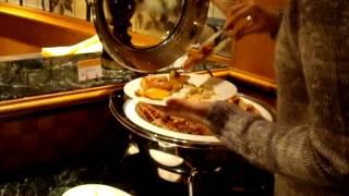 buffet en el hotel hilton de tokyo